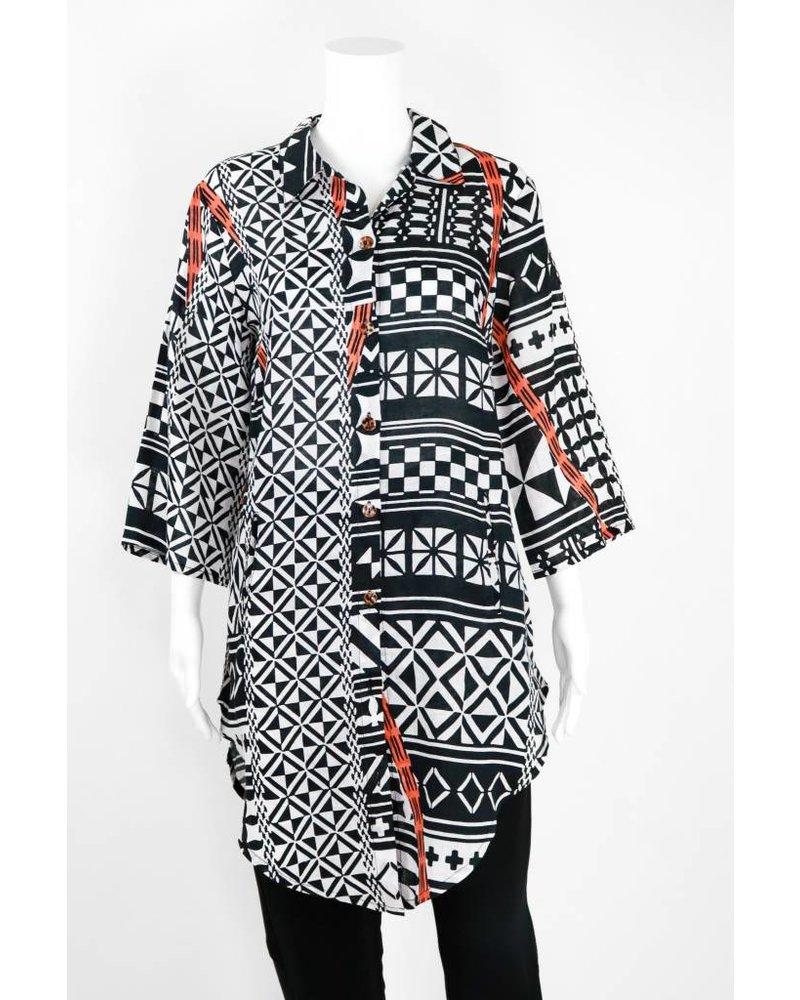 Bitte Kai Rand Button Front Collar Shirt