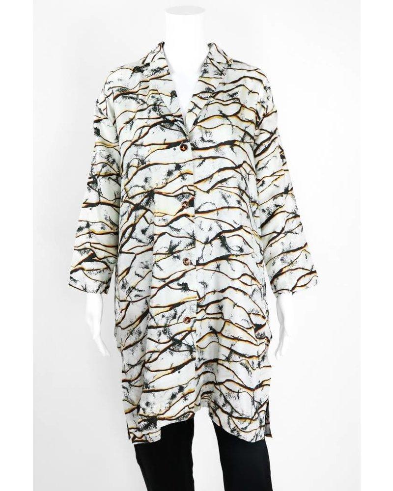 Bitte Kai Rand Burnt Edge Printed Jacket