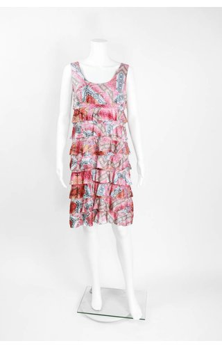 Isle Apparel Inca Ruffle Dress
