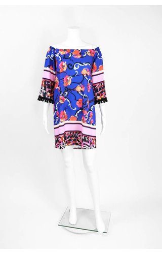Isle Apparel Marlin Print Dress