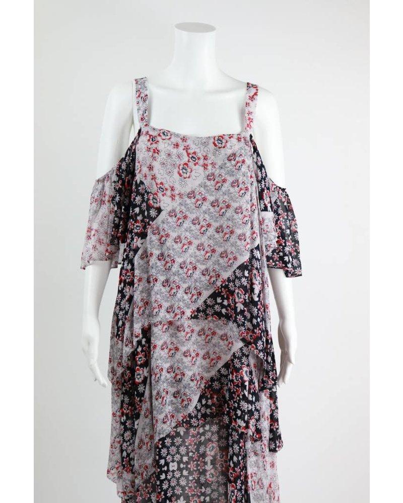Rebecca Minkoff Fleur Floral Print Dress