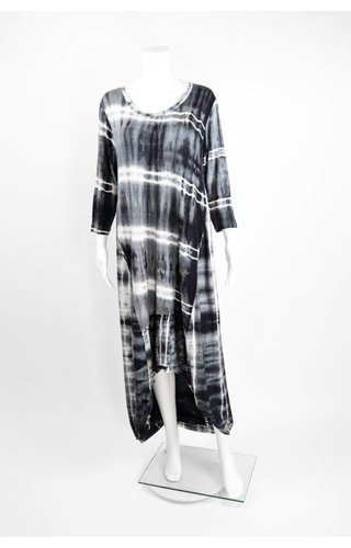 Alembika Tye Dye High Low Dress