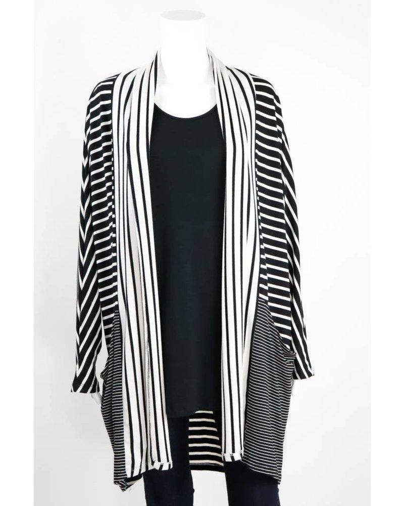 Alembika Striped Cardigan
