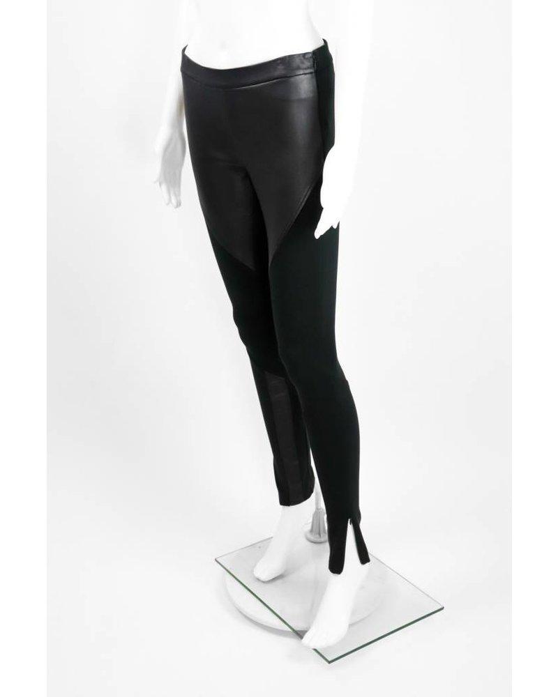 Rebecca Minkoff Leather Bottom Zipper Pants
