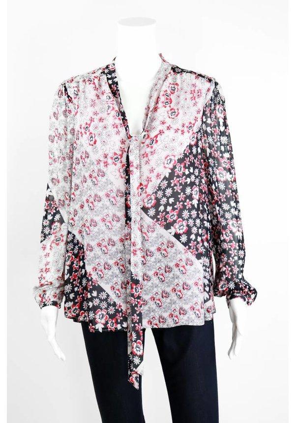 Lumley Floral Print Top