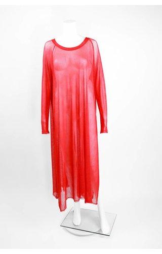 Alembika Net Dress With Side Slit