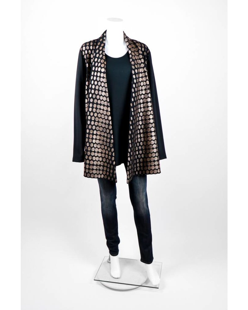 Alembika Foil Polka Dot Fly Away Jacket