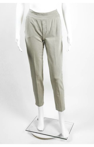 European Culture Knit Mock Fly Pant