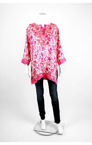Gretchen Scott Multi Embroidery Tunic