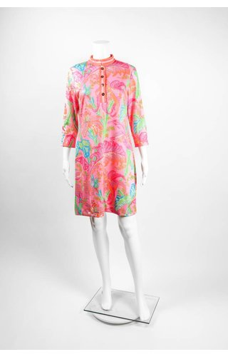 Gretchen Scott Palm Palm Mandarin Dress