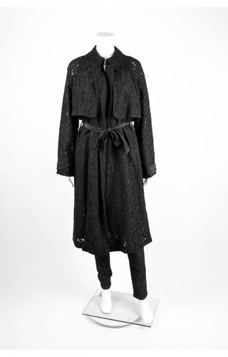 Tracy Reese Lace Trench Coat