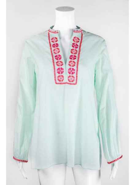 Bella Tu Long Sleeve Tunic With Design