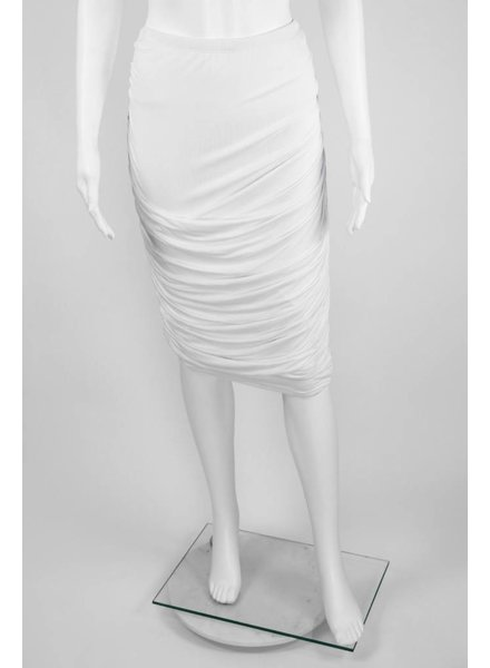 724 Side Ruched Skirt