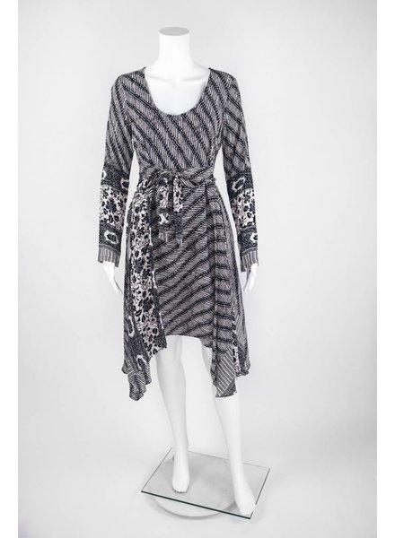 Tracy Reese Plenty Scarf Hem Midi Dress