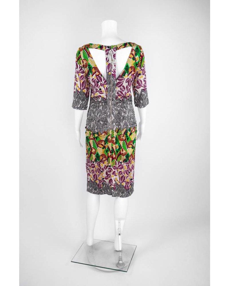Tracy Reese Combo Tee Dress