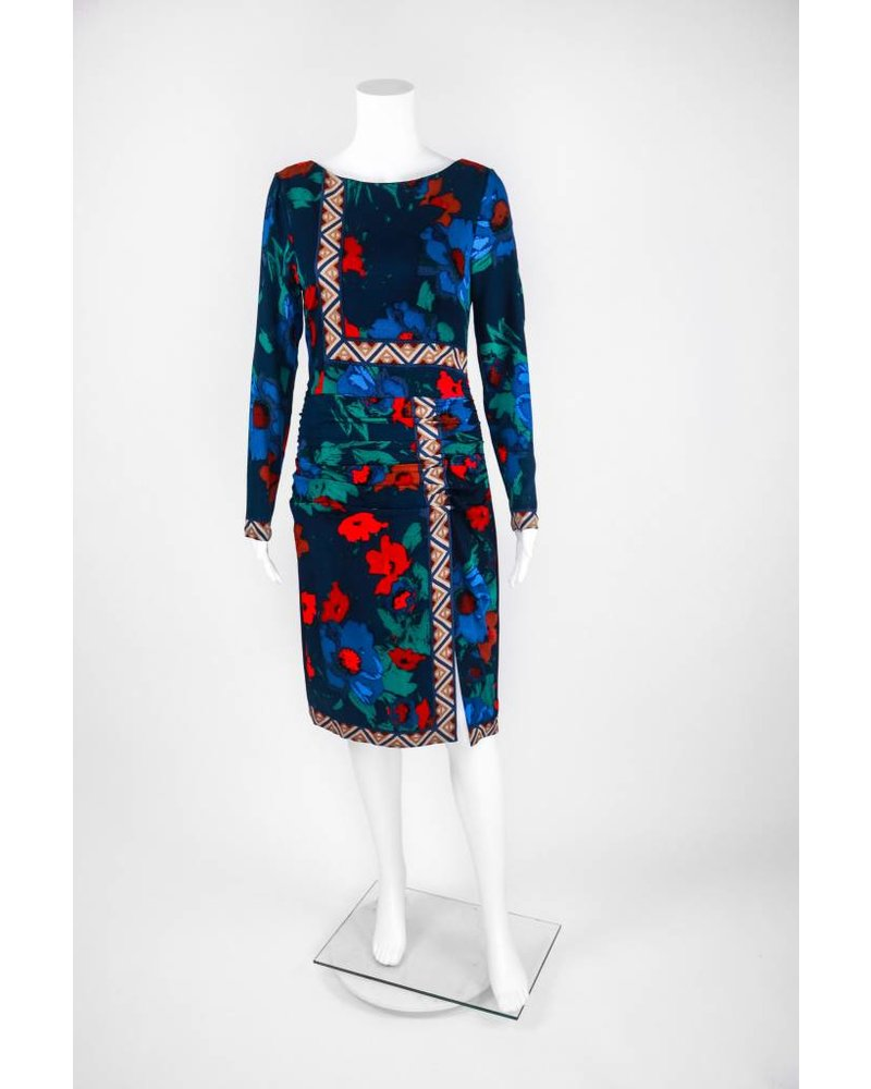 """Tracy Reese Floral Placement """"T"""" Dress"""