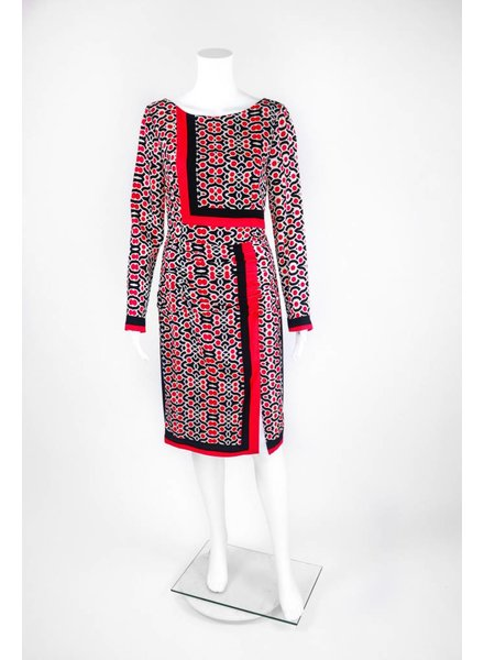 """Tracy Reese Leafy Placement """"T"""" Dress"""