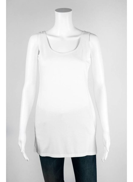 Zen-Knits Basic Wide Strap Tank Top