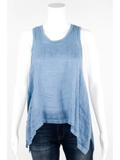 Fresh Laundry Two Toned Scoop Neck Tank Top