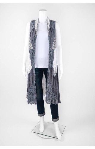 Surrealist Vanessa Heathered Combo Vest