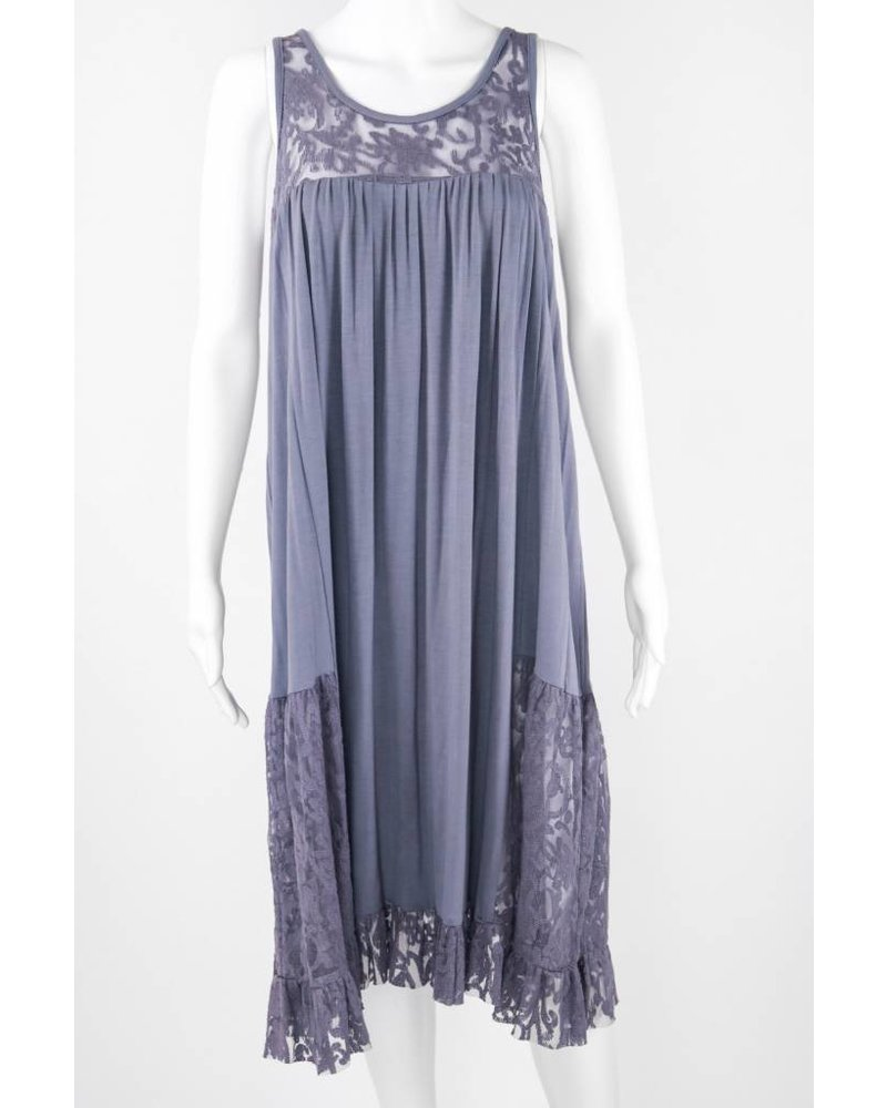 Goody Goody Lace Tank Top Gown