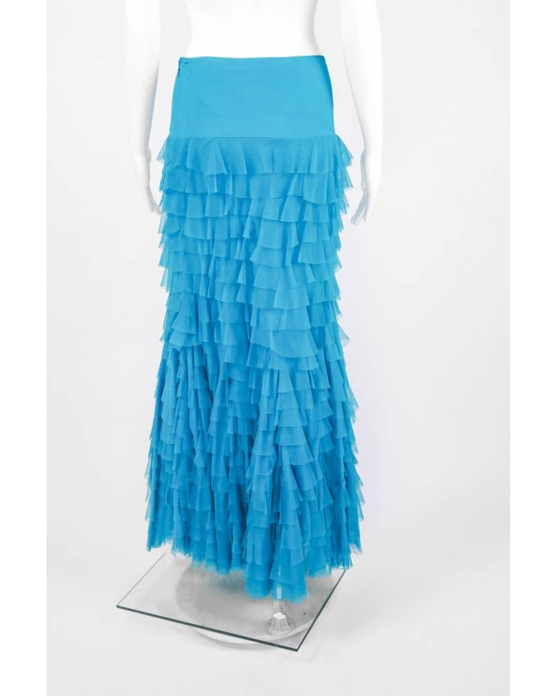 Vintage Collection Long Ruffled Skirt