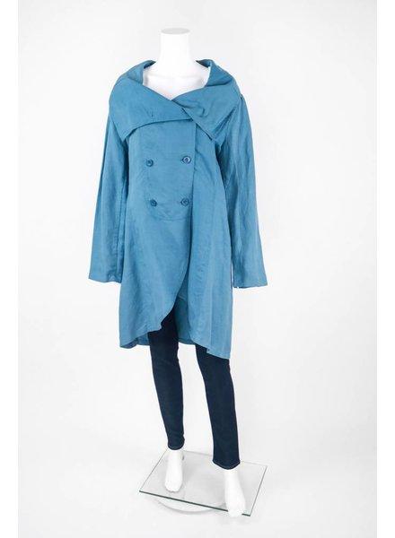 Stella Carakasi Long Sleeve Trench Coat Jacket With Pockets
