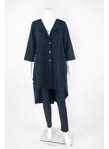 Chalet Button Down Trench Coat Jacket
