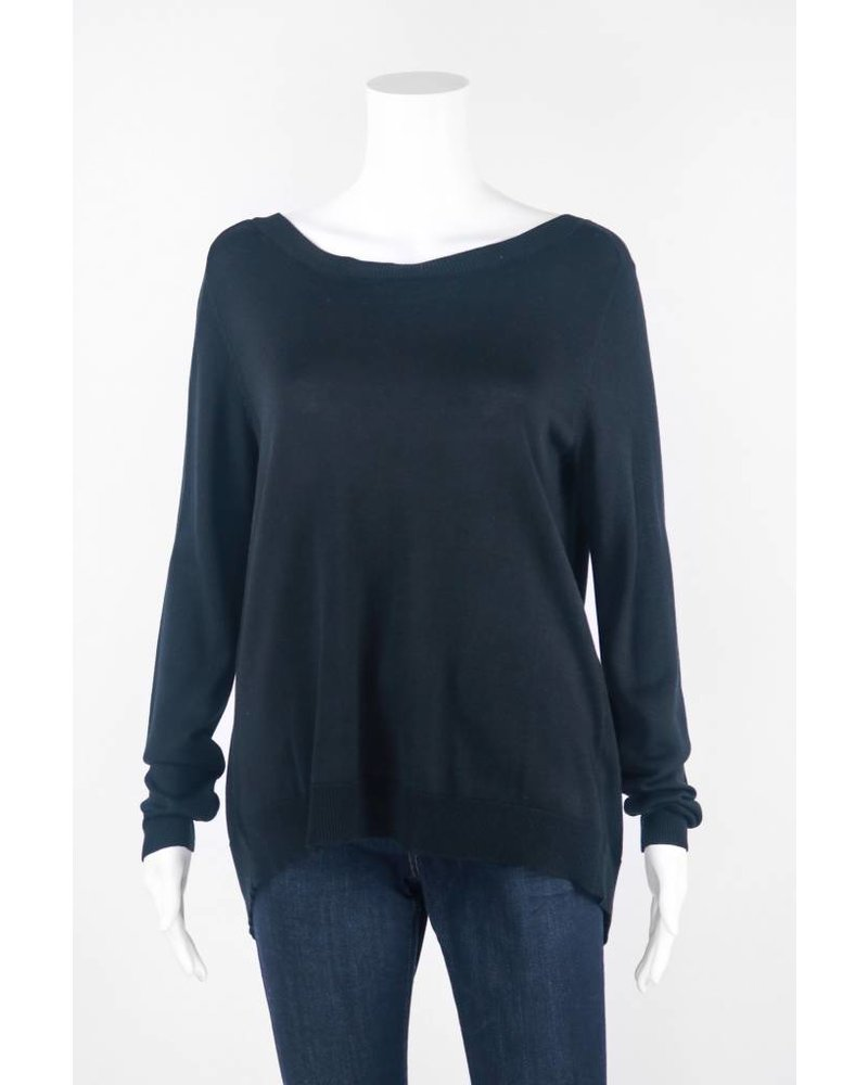 Mel & Lisa Long Sleeve Layered Button Up Top