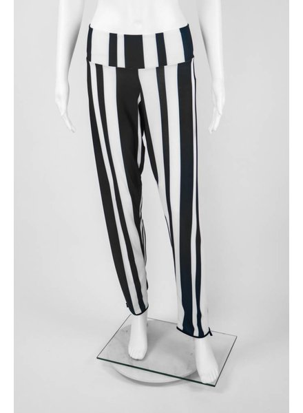 Omdaya Wide Striped Pant