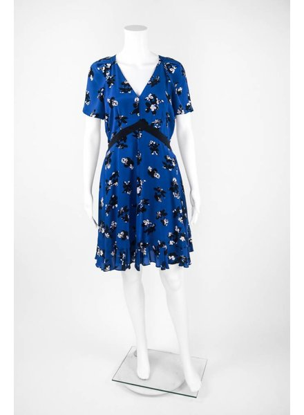 Rebecca Taylor Short Sleeve Aly's Print Dress