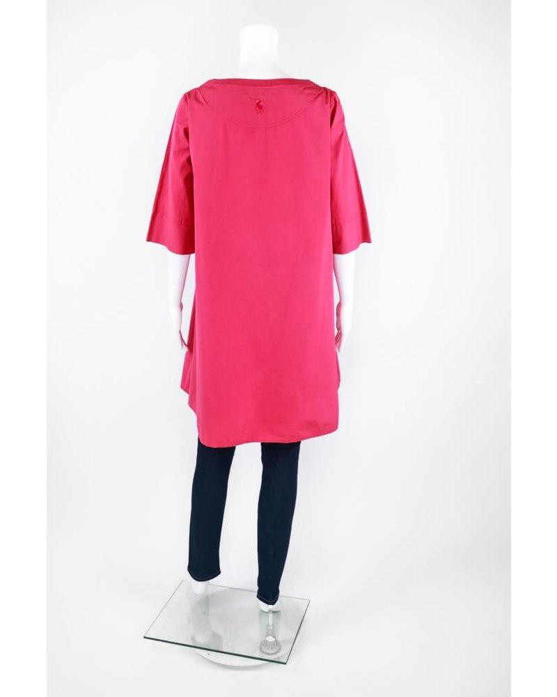 European Culture Half Sleeve Cotton Dress