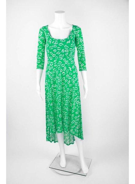 Tracy Reese Half Sleeve Flared Back Dress