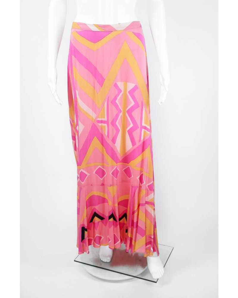 Tracy Reese Geometric Bustle Skirt