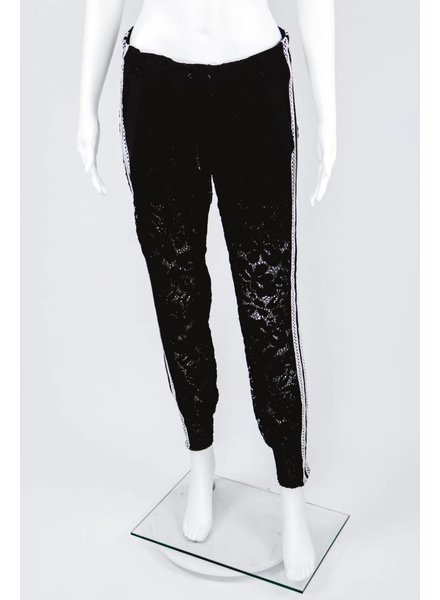 Byron Lars Beauty Mark Lace Jogger
