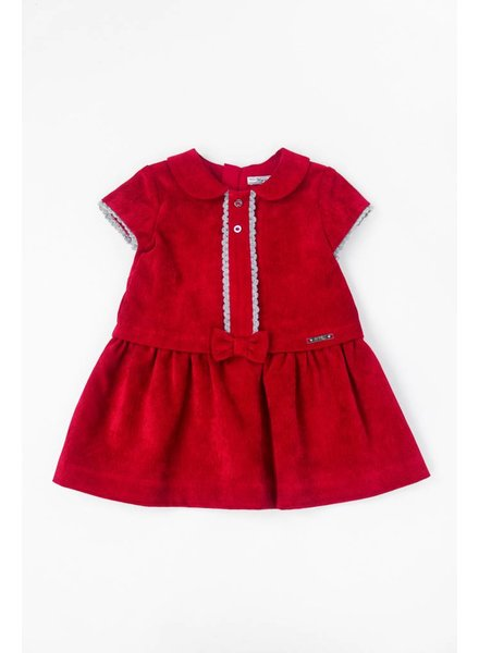 Mayoral Short Sleeve Corduroy Dress