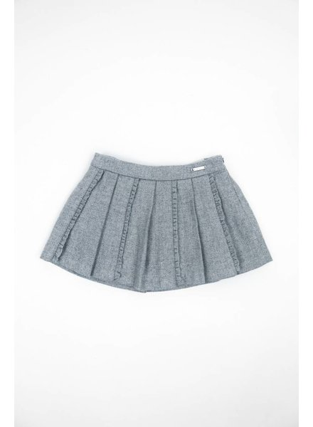 Mayoral Pleated Sparkly Skirt