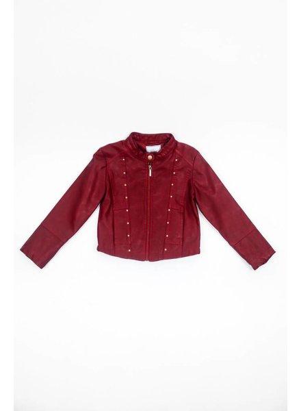 Mayoral Girls Leather Jacket