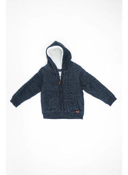 Mayoral Knit Hoodie Jacket