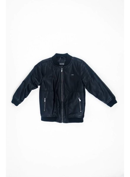 Mayoral Simple Leather Jacket
