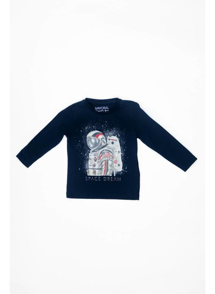 Mayoral Long Sleeve Space Dream T-Shirt