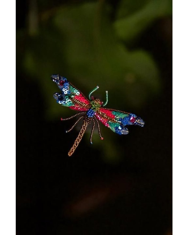 Trovelore Braid Dragonfly Brooch