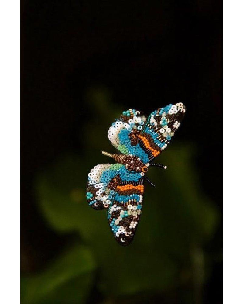 Trovelore Day Flying Moth Brooch