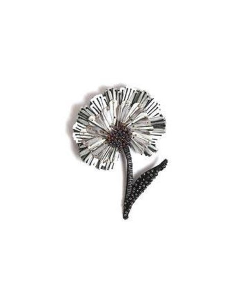 Trovelore Ruffle Flower Brooch