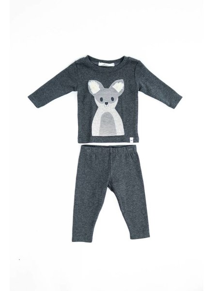 Oh Baby! Furry Ear Puppy Shirt And Pant