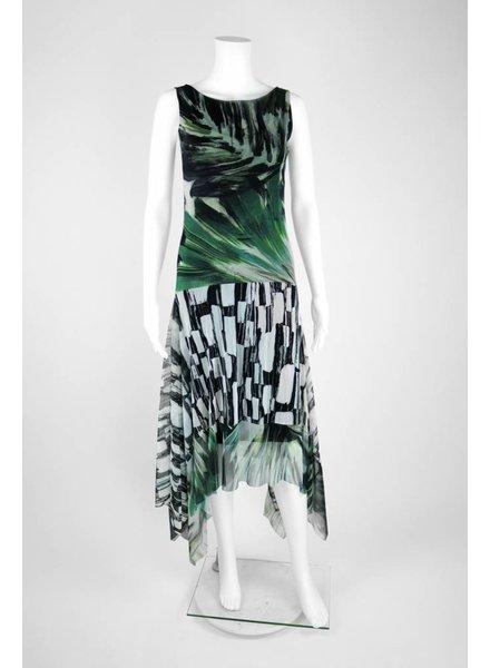 Petit Pois Maxi Mixed Fern Print Dress