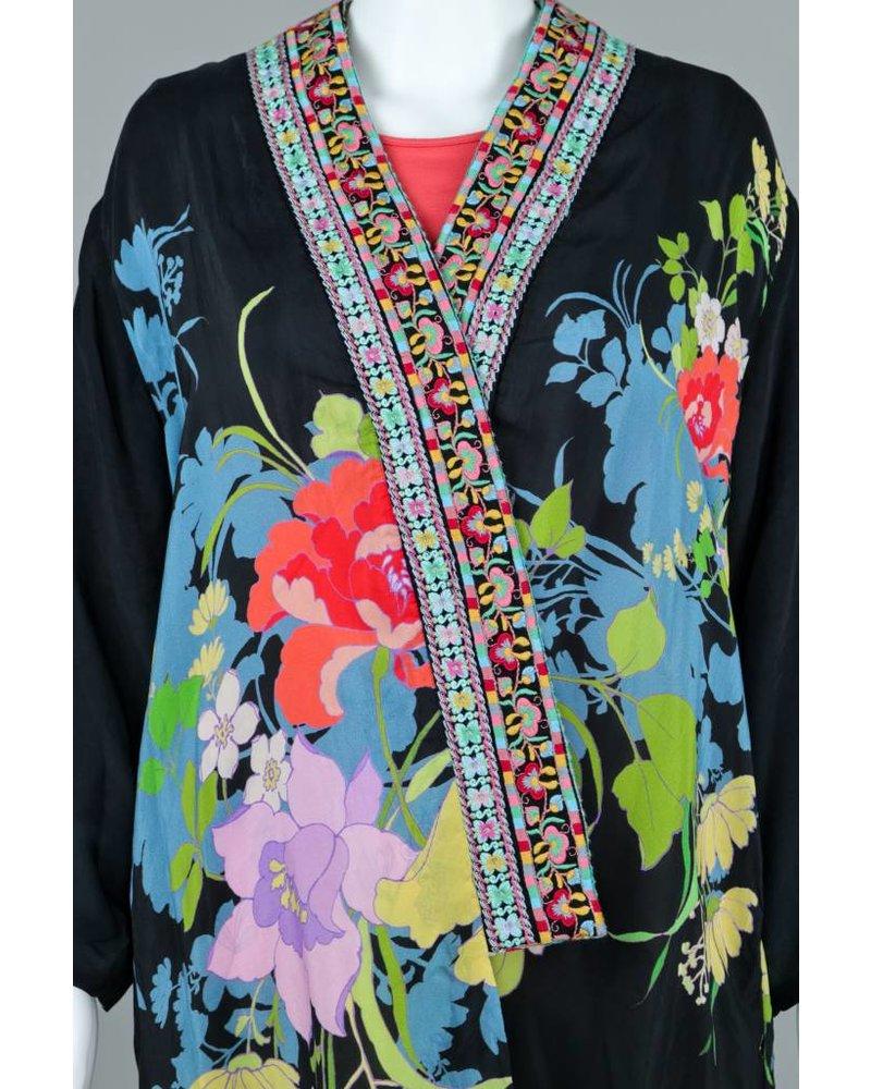 Johnny Was Fuska Embroidery Kimono