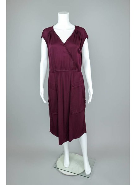 The O'Dells Dip Dyed Cap Sleeve Dress