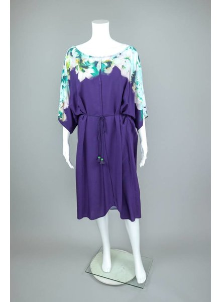 The O'Dells Purple Belted Dress