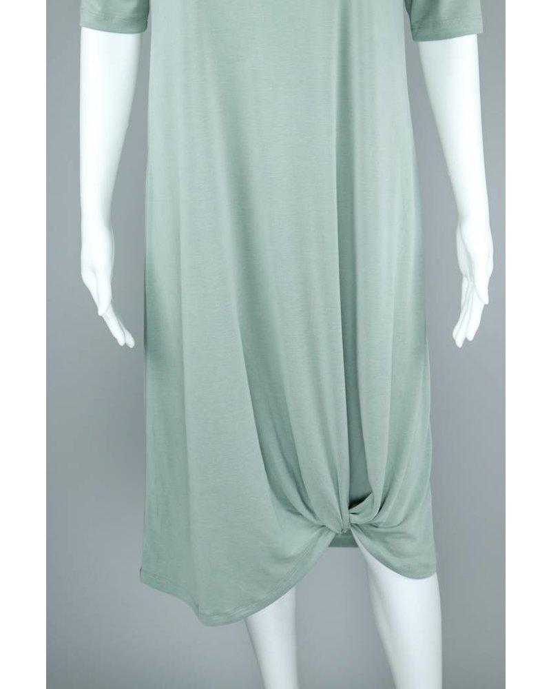 Chalet Knit Modal Hem Dress